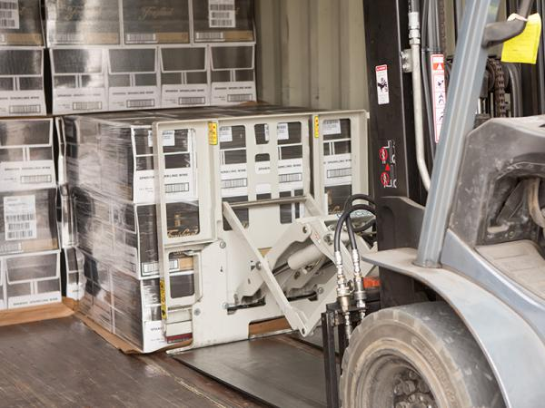 Container Packing & Home : Adelaide Wine Storage Logistics